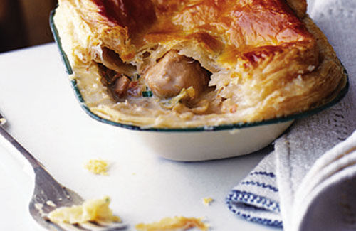 Chicken and leek pie recipe