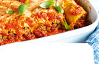 Sausage and liver cannelloni