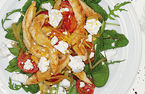 Chicken and feta salad