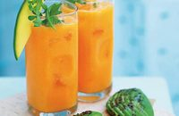 Carrot and mango crush