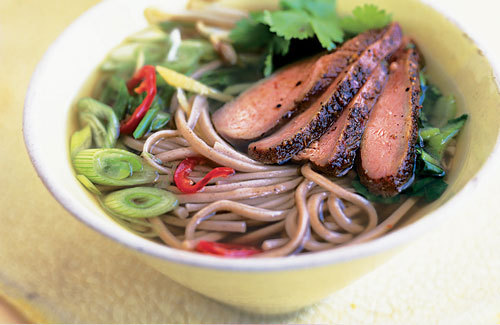 five spice duck and ginger noodle soup recipe ~ World Best Food ...