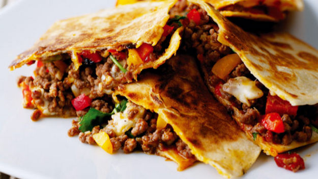 Beef and sweet pepper quesadillas recipe world best food recipes ingredients forumfinder Gallery