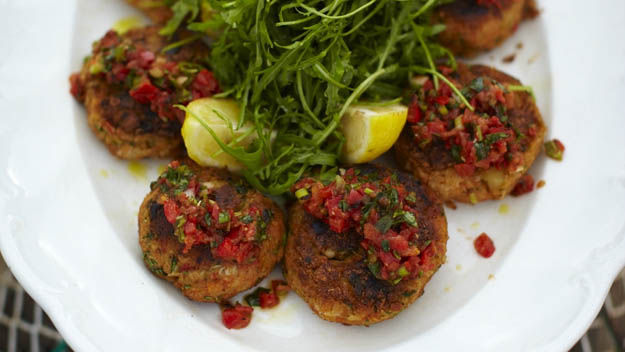 Crab Cakes By Jamie Oliver