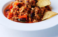 Turkey and vegetable chilli