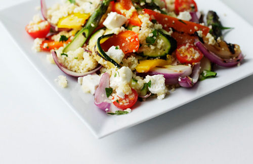 Low fat vegetarian couscous recipes greek