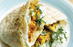 How to cook in high heels: Tandoori chicken pittas