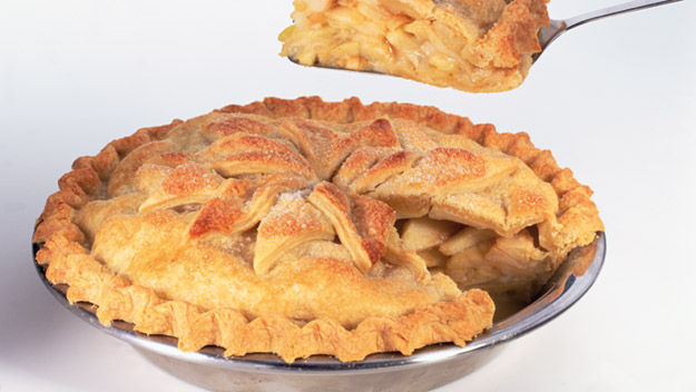 Double crust apple pie recipe