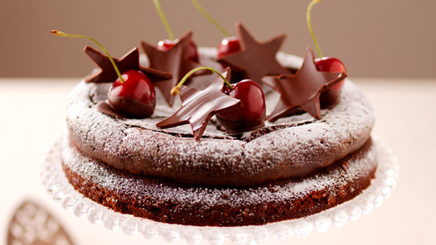 amaretti chocolate cake