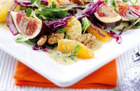 Fig and orange salad