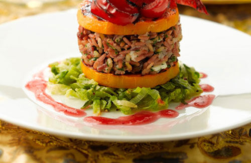 Squash pepper stacks