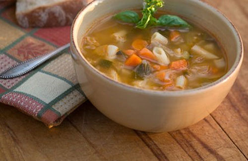 Autumn Vegetable Soup Recipe — Dishmaps