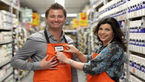 George Clarke and Kirstie Allsopp at B&Q