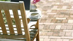 Patio and Chair. How To Clean A Patio