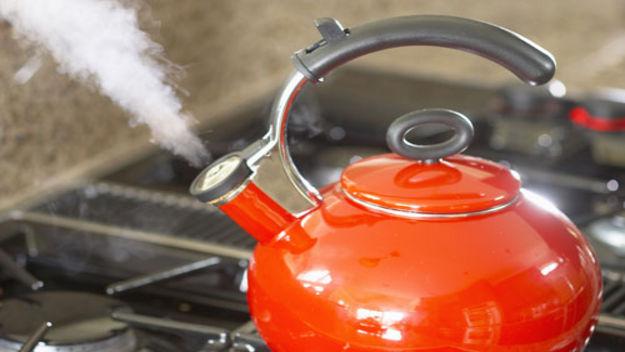 Как снять накипь в эмалированном чайнике? подручными средствами