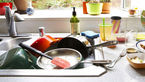 Kitchen Sink. How To Clean A Kitchen Sink