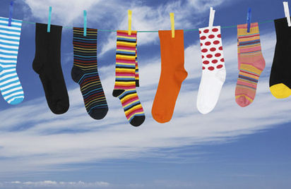 Socks On Line. Washing Symbols Explained