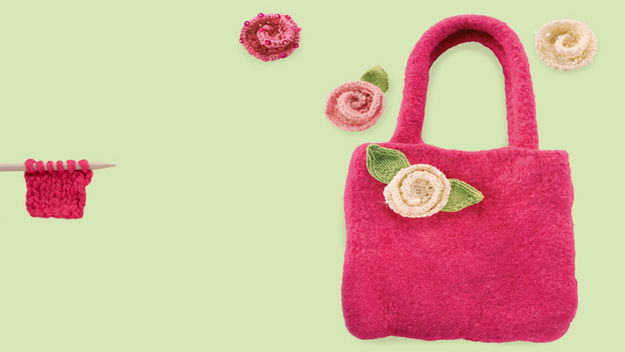 Knitted Bags For Beginners : How+to+knit+a+bag+for+beginners