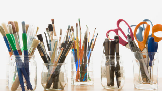 craft pen pots