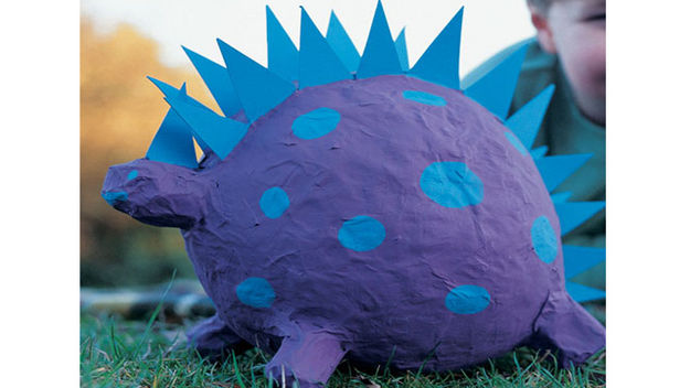 Implementing arts craft tutorials for kids blogher for Paper mache art and craft