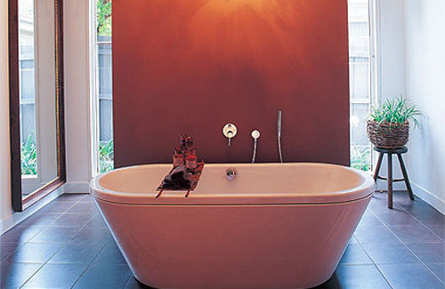 Bathroom. How to plan a contemporary bathroom