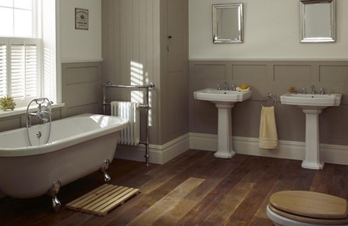 41 Country Style Bathroom Designs Channel4 4homes