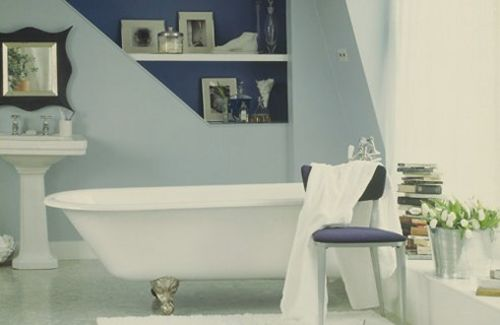 Programmes homes and gardens channel 4 for Dulux bathroom ideas