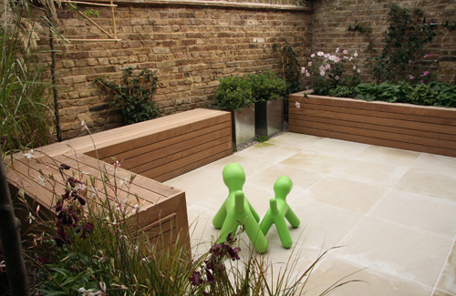 Pin sloping hill garden design with raised beds built Channel 7 home and garden