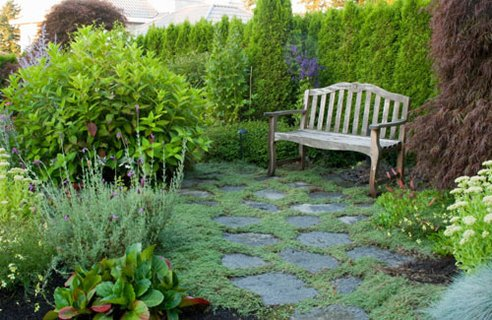 Garden paths ideas advice for Channel 4 garden design ideas