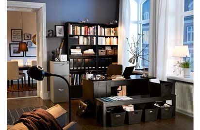 whole room solutions smart desks effective wall storage