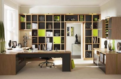 Valentine one home office design - Modern home office floor plans for a comfortable home office ...