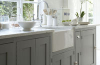 10-Little-Greene-Paint-Co-Kitchen-Design. Shaker Kitchens