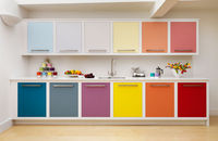 33 Colourful Kitchen Design Ideas - Channel4 - 4Homes