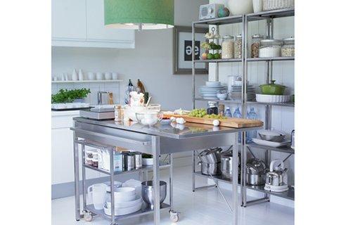 26 gorgeous free standing kitchen design ideas - Ikea free standing kitchen ...