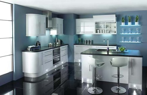 21 contemporary kitchens under 5 000 channel4 4homes for Kitchen ideas homebase