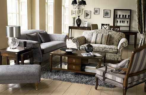 38 country style living rooms channel4 4homes for Country living room furniture