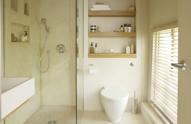 Small wet rooms designs joy studio design gallery best design - Toilet design small space property ...