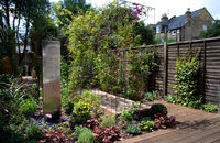 long thin garden makeover