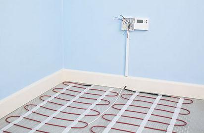 electric underfloor heating problems photos