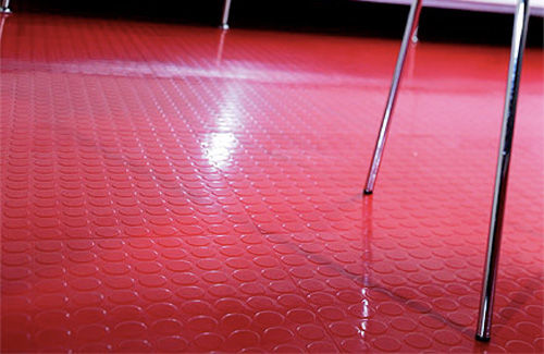 Rubber floor tiles for bathrooms images for Hard vinyl floor tiles