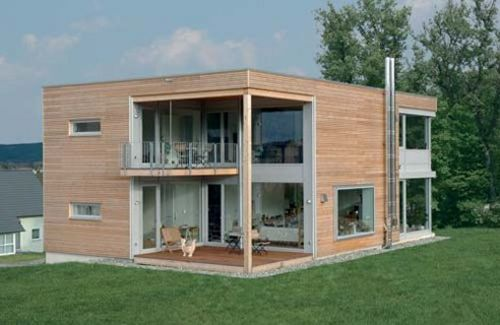 Kit homes manufacturers baufritz channel4 4homes for Self build kit home designs