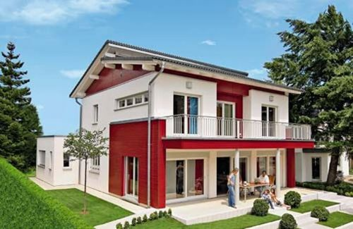 Kit homes manufacturers weberhaus channel4 4homes for Self build kit home designs