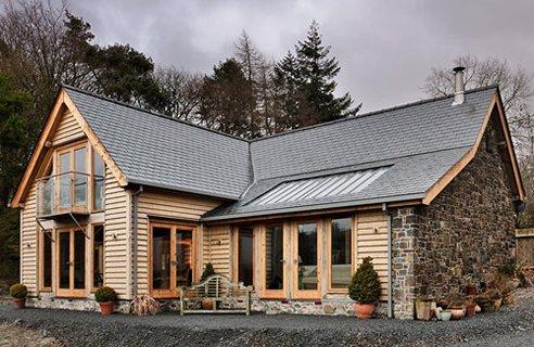 Kit Homes Manufacturers Welsh Oak Frame Channel4 4homes