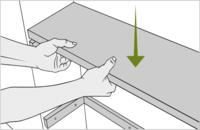 Cut & Fix The Shelf