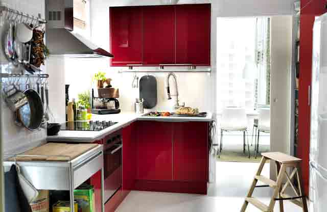 Interior Design Ideas For Small Rooms: Small Kitchens, Small