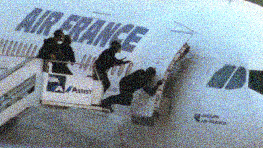 Anti-terrorist GIGN force storms hijacked Air France in 1994 (Reuters)