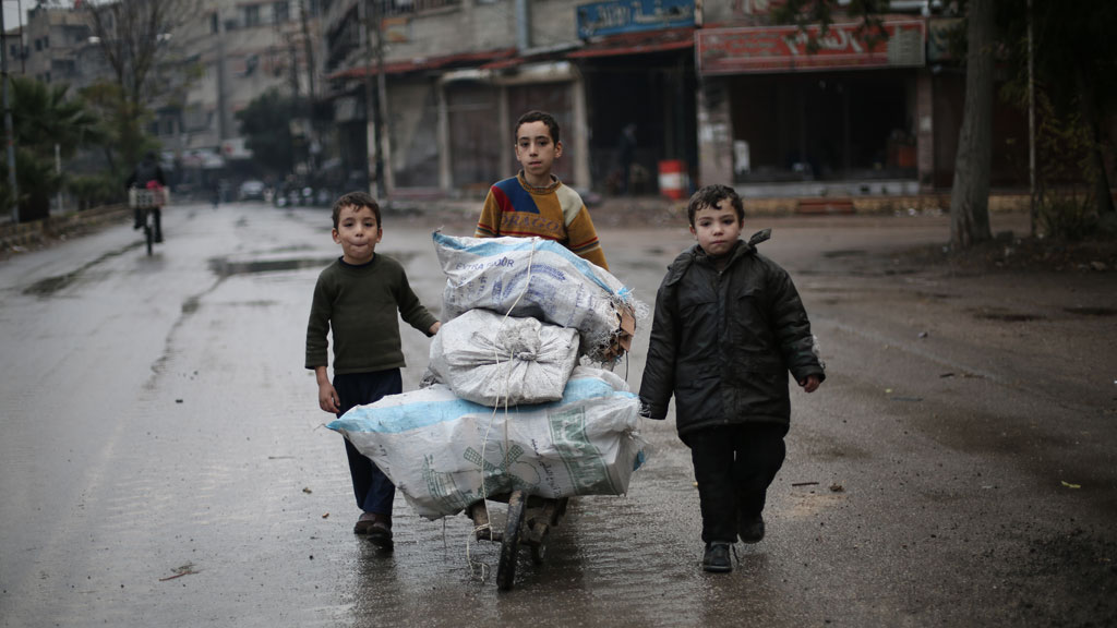 Syria's children: barrel bombing, shelling and air strikes
