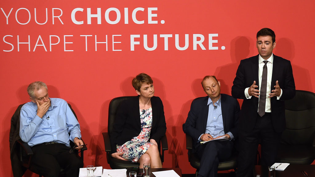 Labour leadership candidates (Getty)