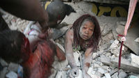 Haiti Earthquake: Girl rescued from the rubble