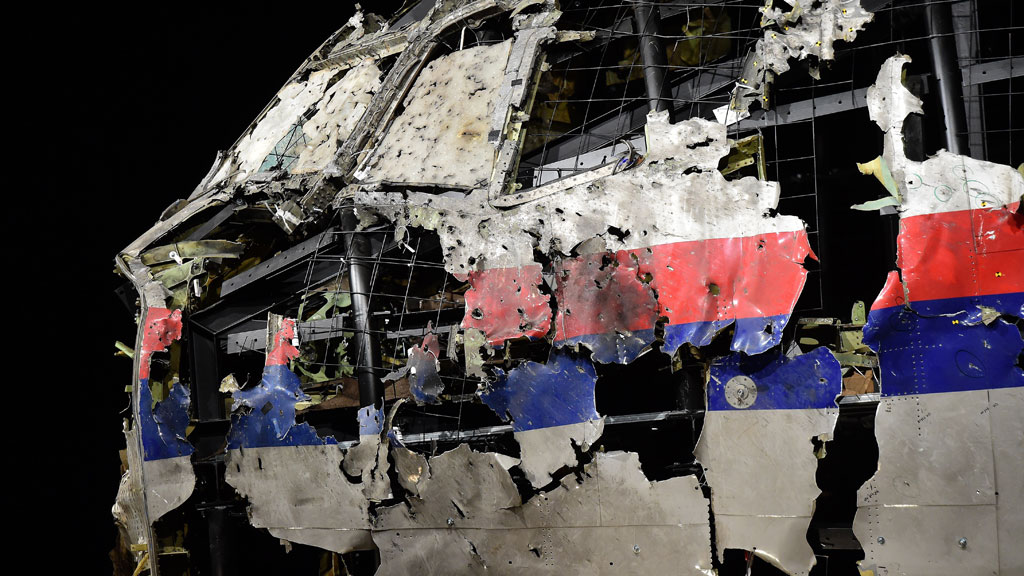MH17 reconstruction (Getty)