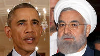 US President Barack Obama and Iran's President Rouhani